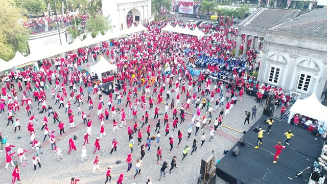 Senam Pagi Gerakan Nasional Pilah Sampah Dari Rumah Semarang