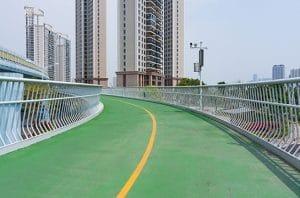 Cina Membangun Jalur Sepeda Terpanjang di Dunia