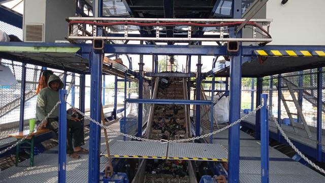 Mesin Pembersih Sampah Dari Belanda di Cengkareng
