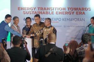 Indonesia EBTKE Conex 2019 resmi di buka pada Rabu, 06 November 2019 di Jexpo Kemayaron Jakarta Pusat
