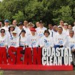 Menteri Lingkungan Hidup dan Kehutanan, Siti Nurbaya Bakar, dalam kegiatan ASEAN Coastal Clean Up 2019.