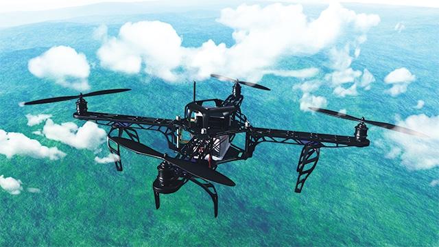 Drone penembak benih