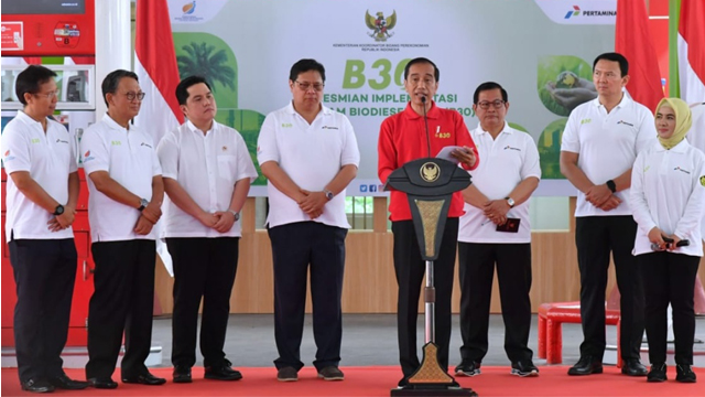 Presiden Percepat Program B30