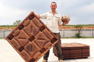 Palet Kayu dari Limbah Kelapa