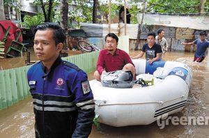 Banjir Jakarta 25 Februari 2020