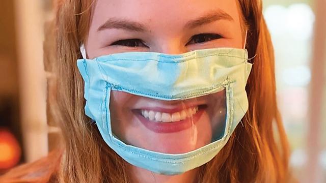 Masker Transparan