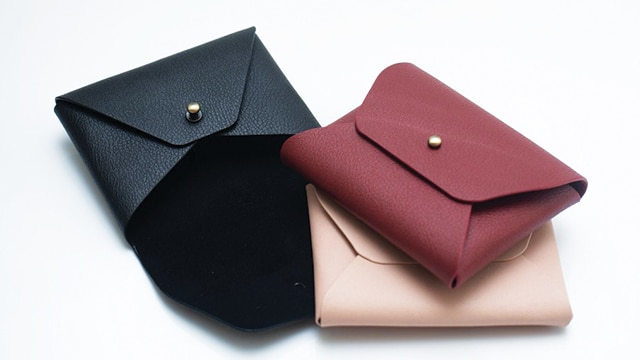 Dompet dari Kulit Apel