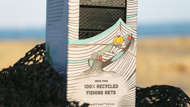 Blok Mainan dari Jaring Plastik Bekas