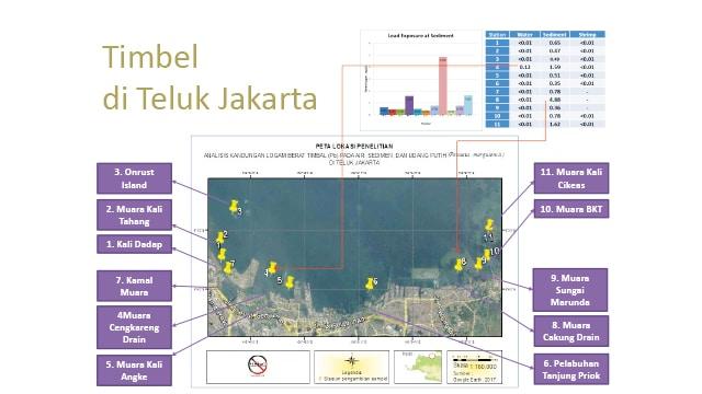 Timbel di Teluk Jakarta