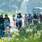 Pesepeda di Ibu Kota