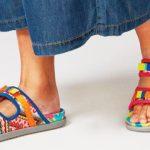 Sandal dari Upcycle Kain