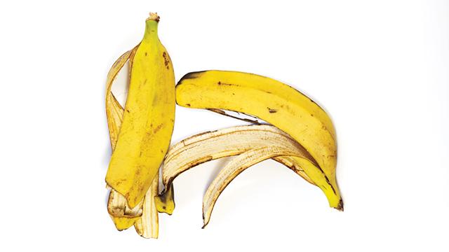 Es krim dari limbah kulit pisang.