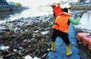 Hujan Deras, Sampah Pintu Air Manggarai Capai 2,8 Ton