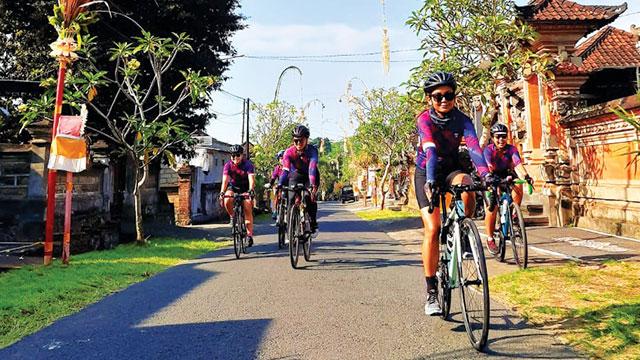 Bali Pulih, Perempuan Pesepeda Promosikan Pulau Dewata