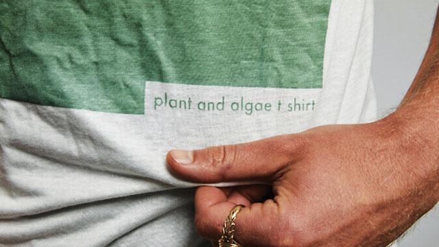 Tampil Kece dengan Kaus dari Alga