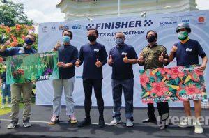 Usung Protokol Kesehatan, Bersepeda Asyik di Kebun Raya Challenge 75 KM