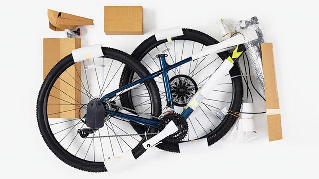 Kemasan sepeda ramah lingkungan Cannondale