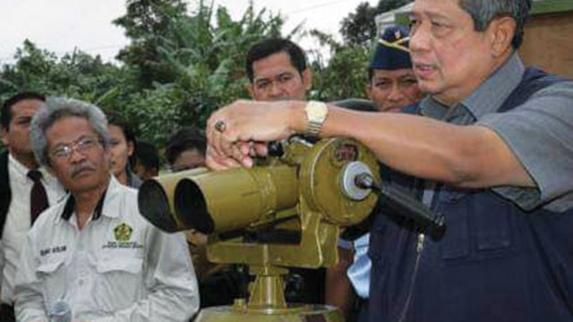 Mbah Rono, Dr. Surono bersama SBY