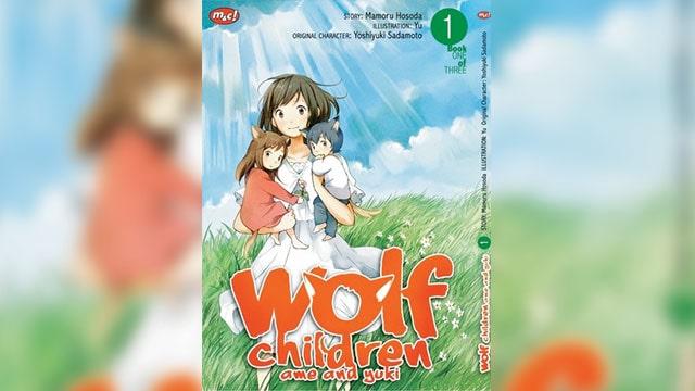 manga tema lingkungan wolf children
