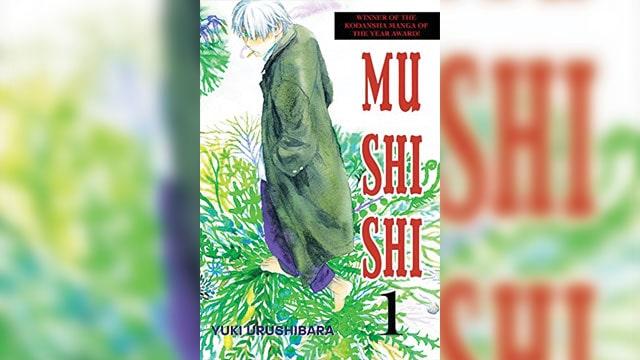 manga tema lingkungan mushishi