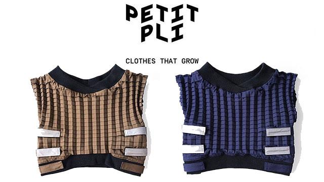 Petit Pli Clothes That Grow