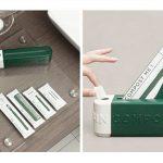 green box plastik terdekomposisi