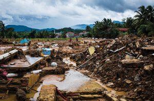 pusat penanganan sampah yang timbul akibat bencana