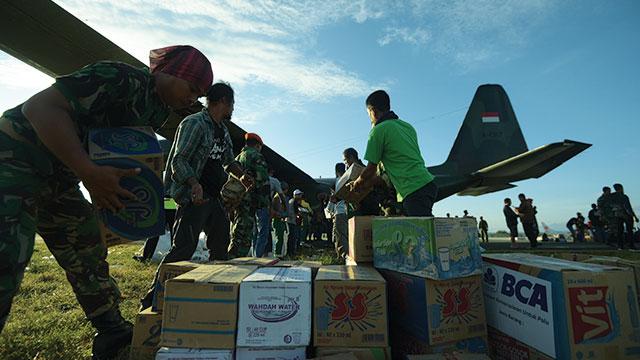 bantuan korban bencana