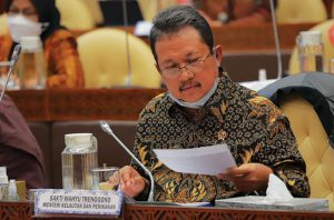 Menteri KKP Sakti Wahyu Trenggono