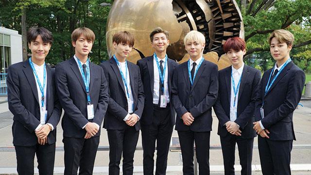 BTS Semangati Kaum Muda